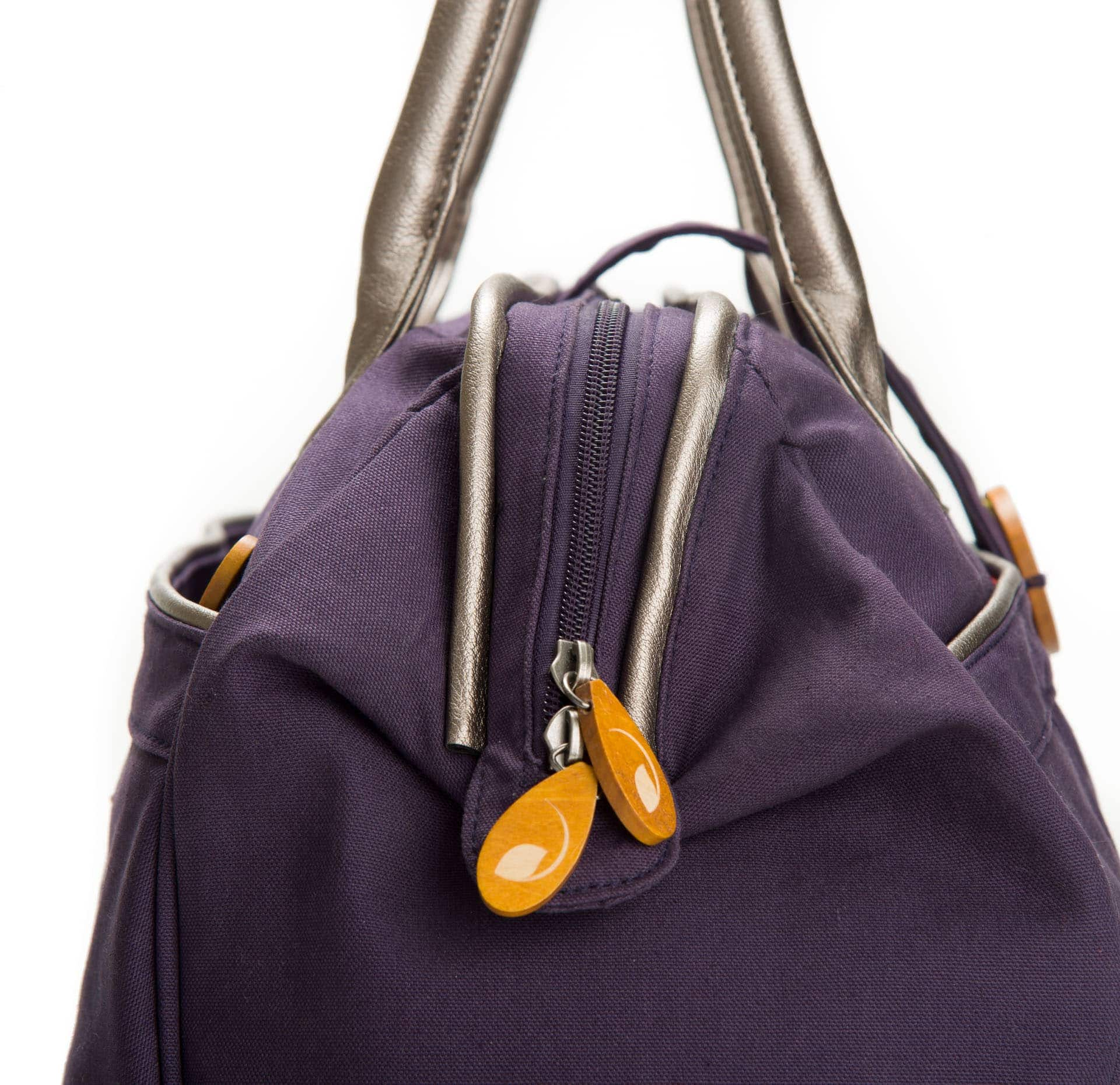 Canvas Weekender Bag | Gym Bag & Yoga Bag for Women | Weekend Bag