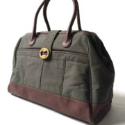 canvas travel bag and unisex weekender