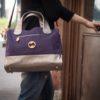 vegan satchel and eco friendly handbag