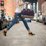 womens travel bag, organic cotton diaper bag