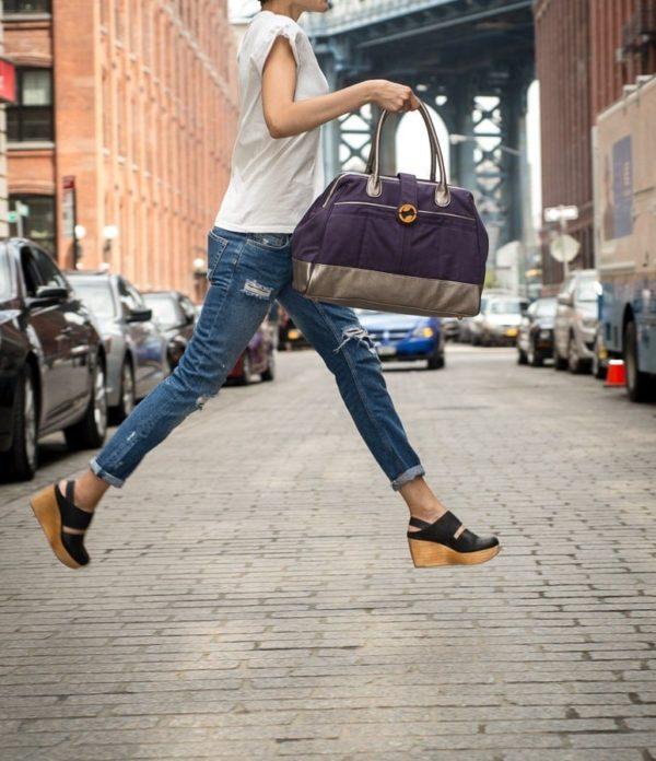 weekender bag for women & canvas duffle bag