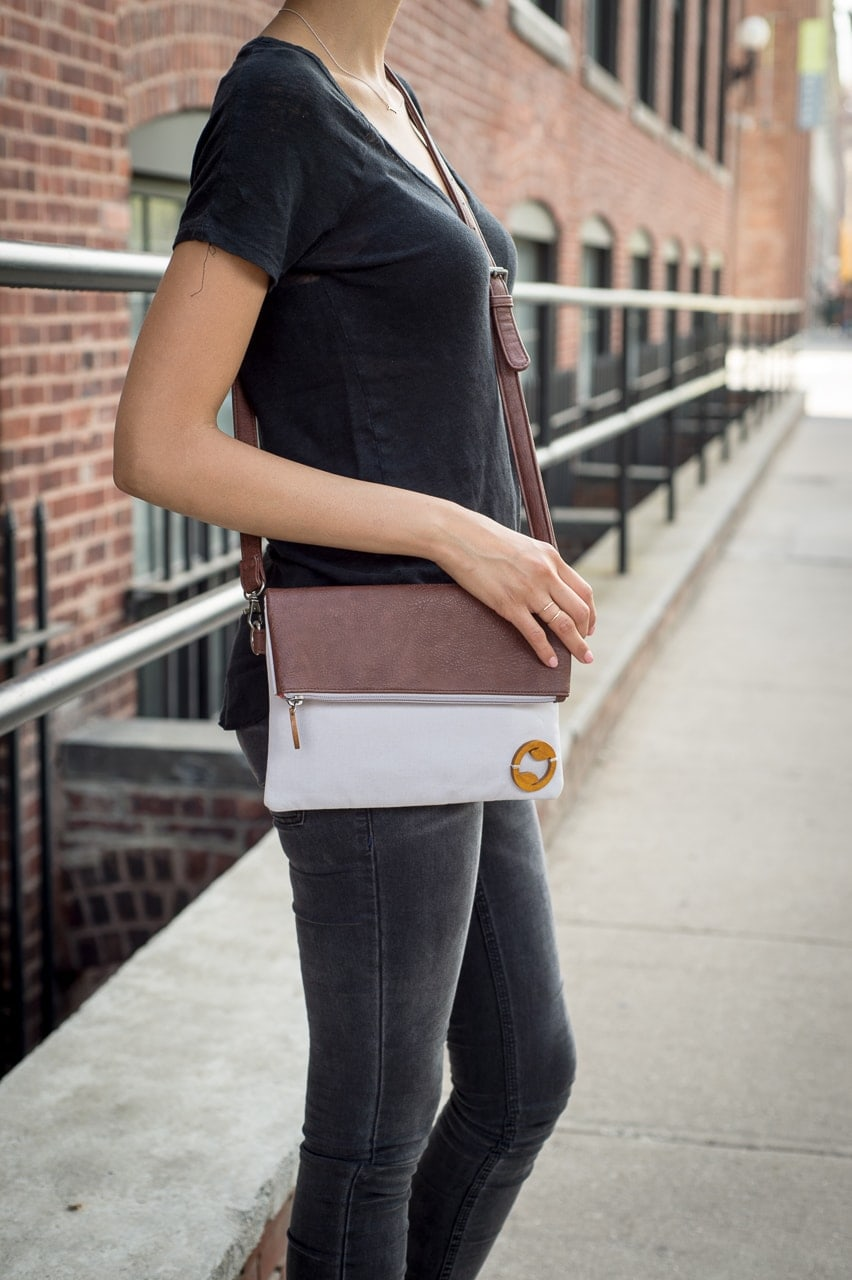 crossbody bag & canvas purse