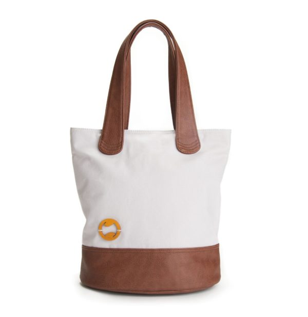 gray vegan tote bag, sustainable and cruelty free
