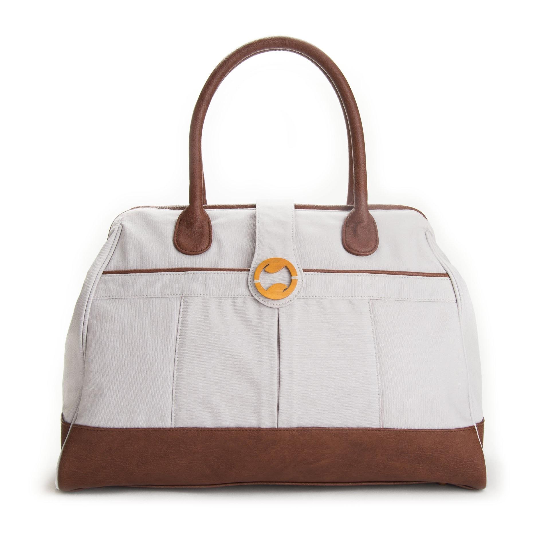 Canvas Weekender Bag | Gym Bag & Yoga Bag for Women | Weekend Bag