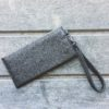 wallet clutch in vegan leather