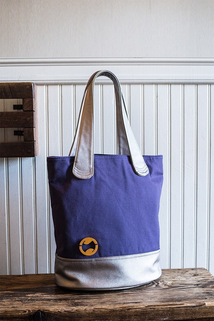 vegan tote with organic cotton