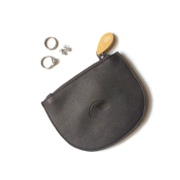eco friendly purse and coin pouch, vegan leather