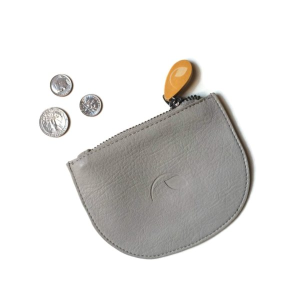 small coin purse in vegan leather