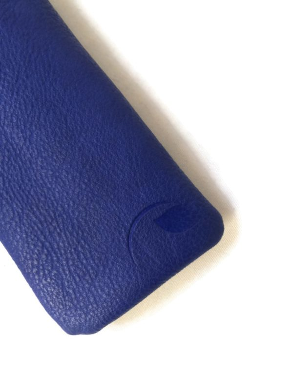 royal blue sunglass case & glasses pouch
