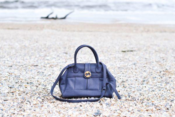vegan leather satchel and doctor bag purse