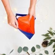 vegan leather wallet, cruelty free