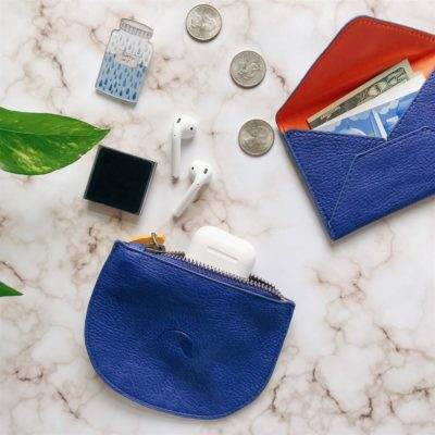 minimalist wallet and coin purse, cruelty free