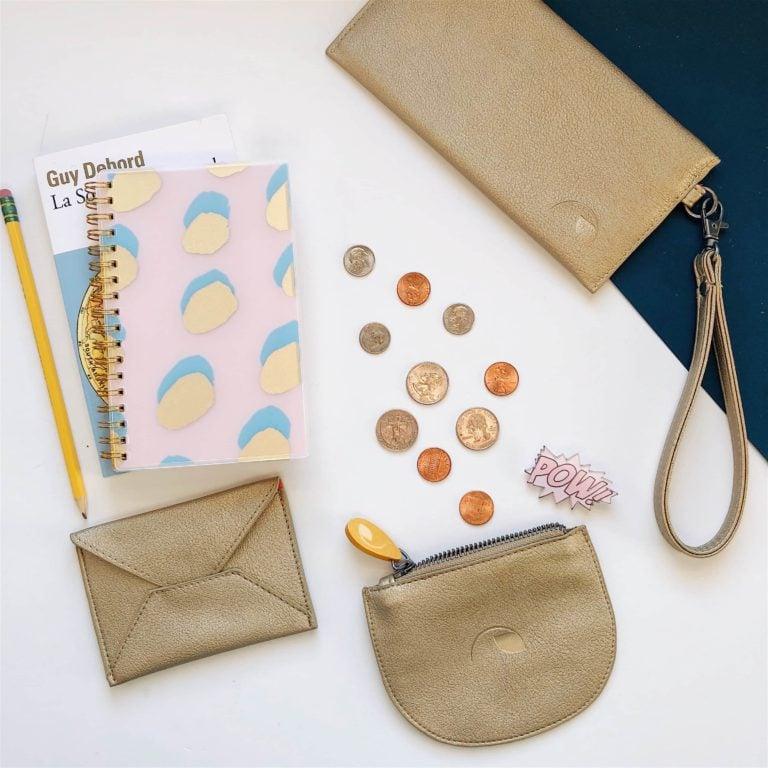 vegan leather bags, wallets and accessories