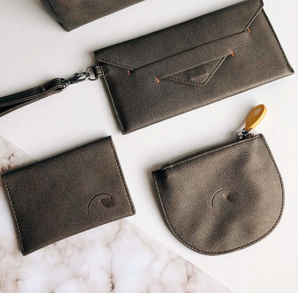 vegan wallet & gift set for her