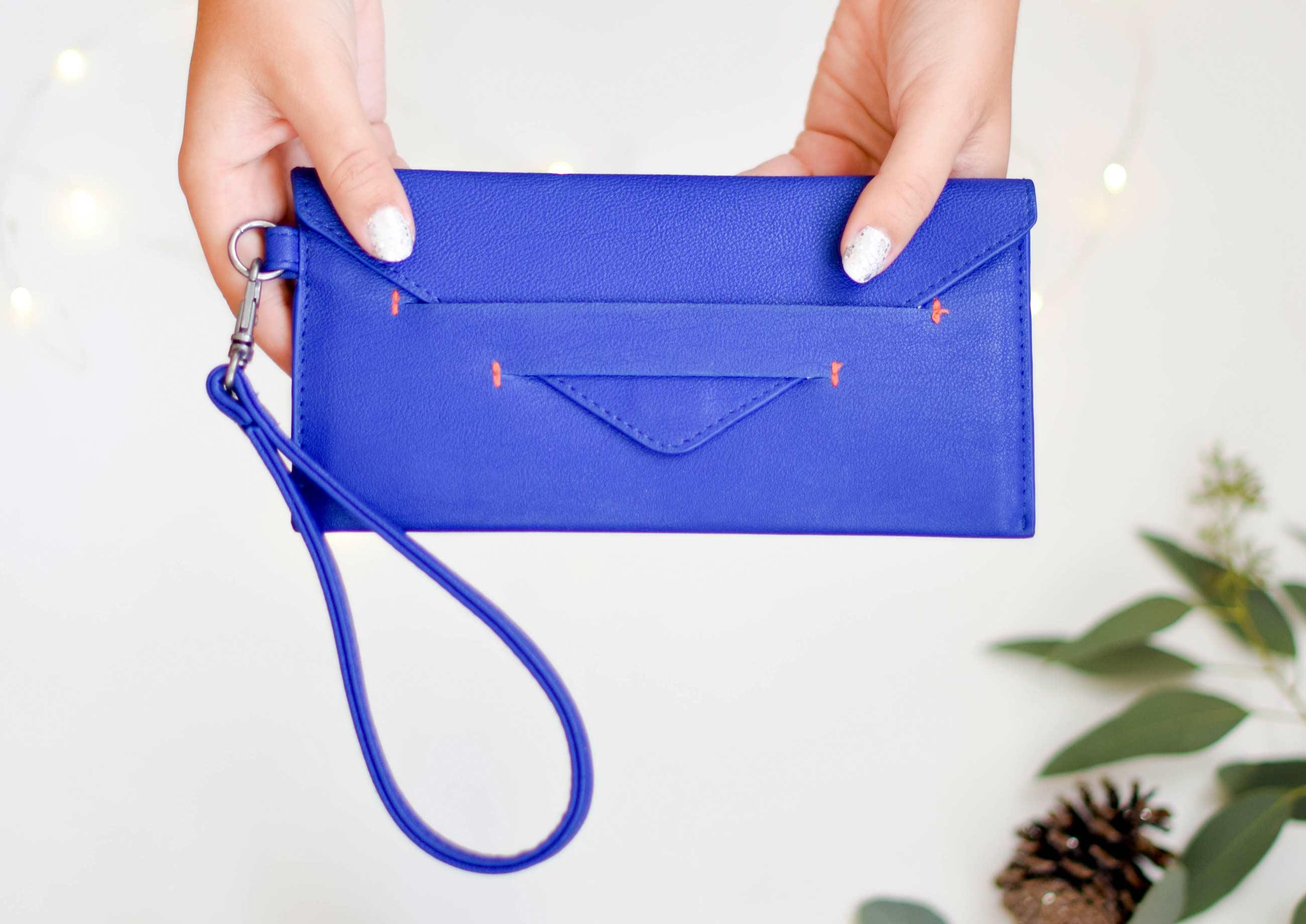 womens wallet in vegan leather