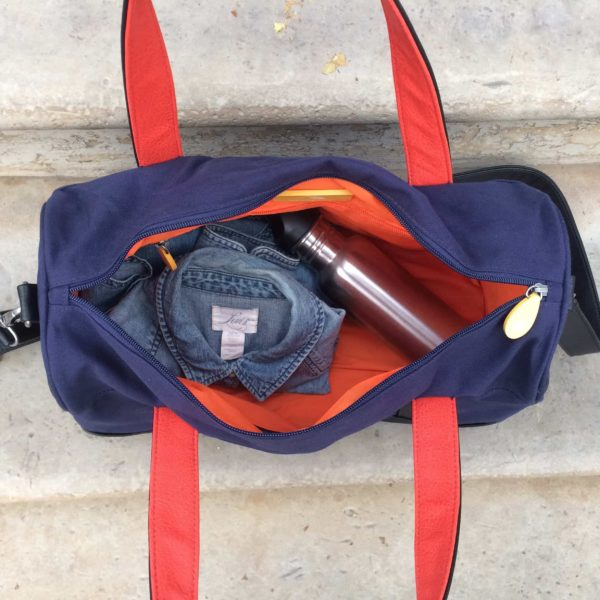 mens travel bag and canvas duffle bag, sustainable & animal-free