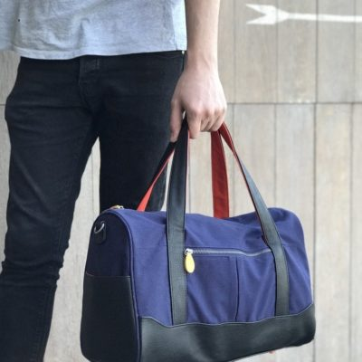 travel bag for men and weekend duffle bag, cruelty-free