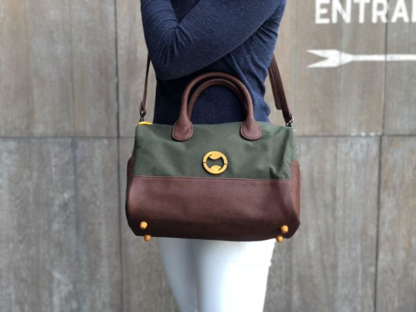 eco friendly crossbody purse and vegan designer handbag