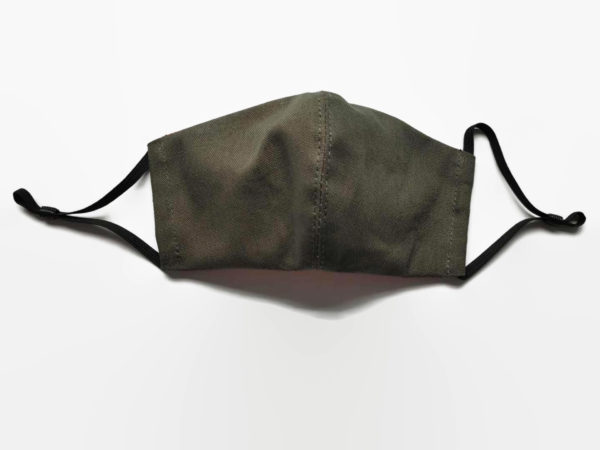 Olive green unisex face mask