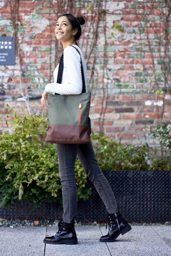 vegan backpack tote and crossbody