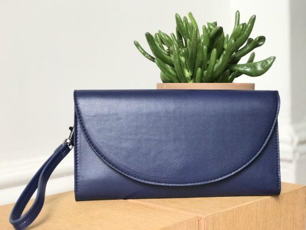 vegan leather wallet for women